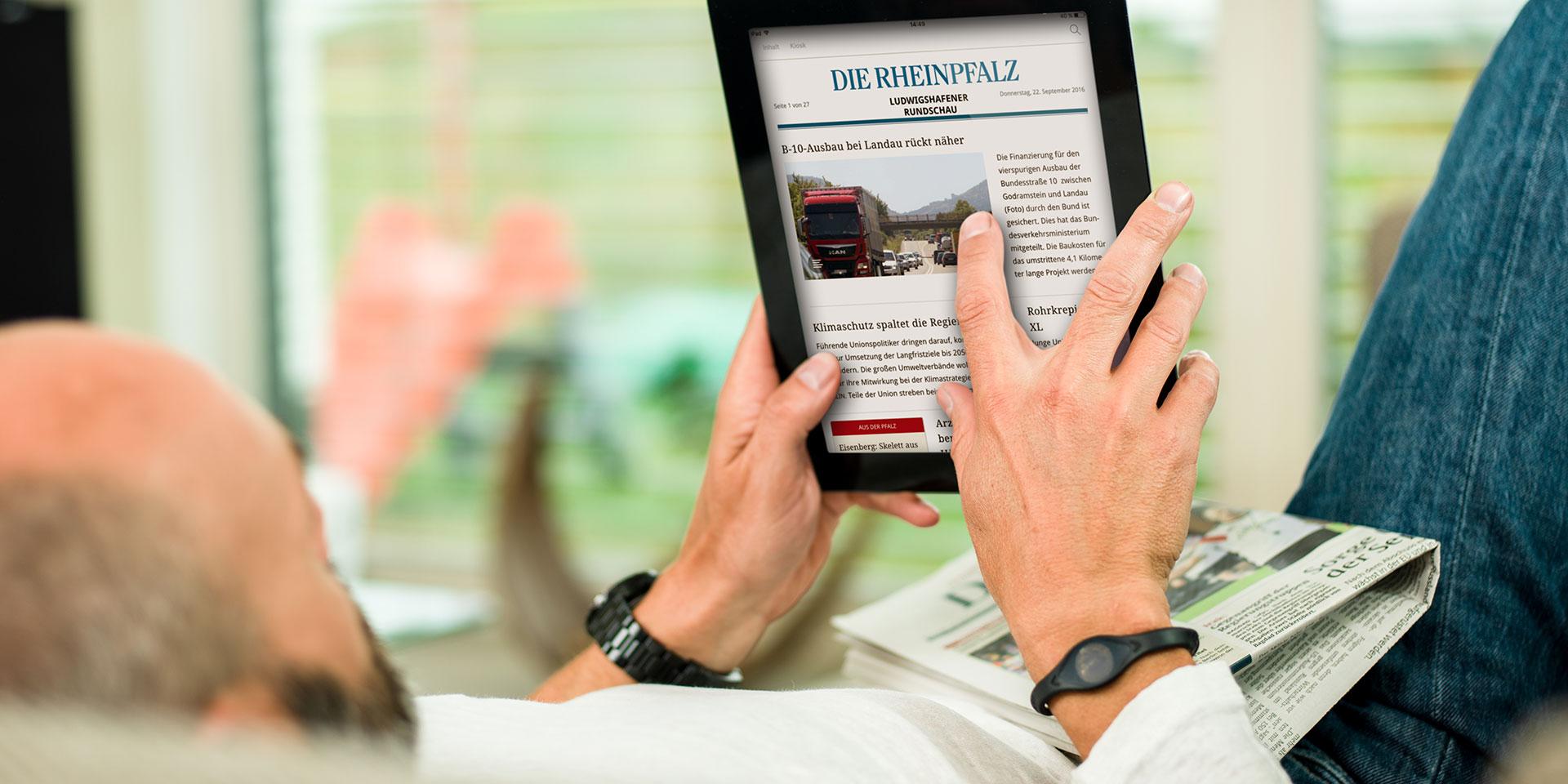 RHEINPFALZ Upgrade für Abonnenten